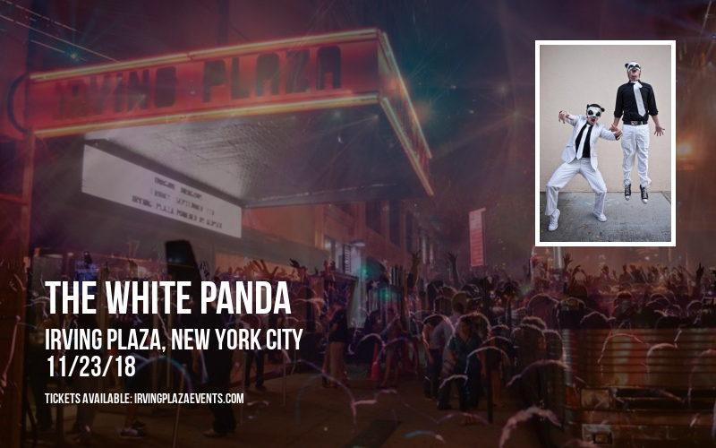 The White Panda at Irving Plaza