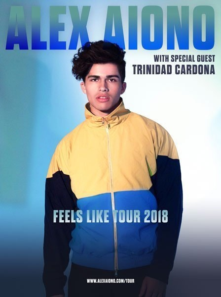 Alex Aiono at Irving Plaza