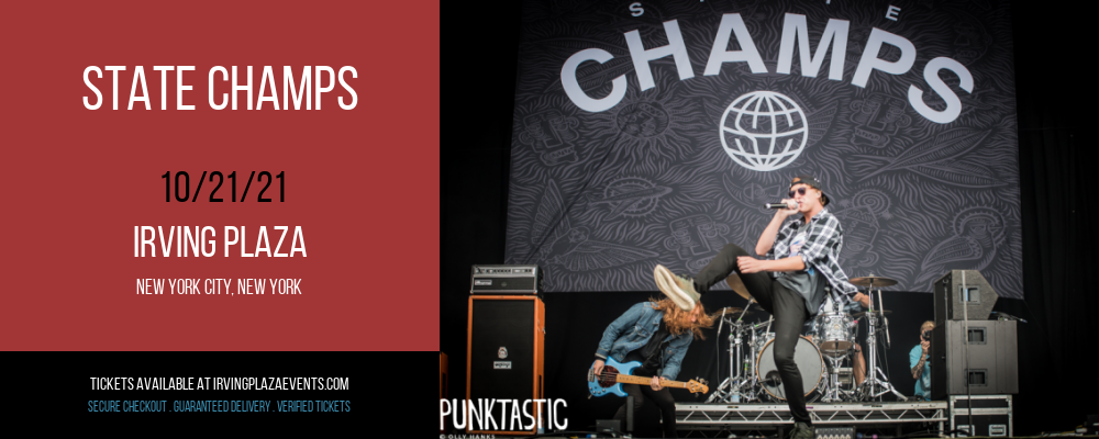 State Champs at Irving Plaza