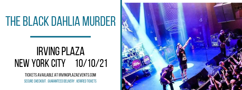 The Black Dahlia Murder at Irving Plaza