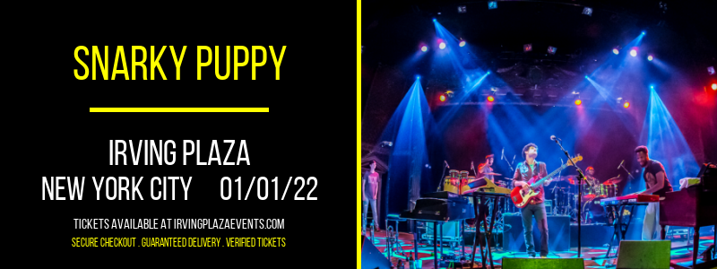 Snarky Puppy at Irving Plaza