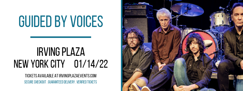 Guided by Voices at Irving Plaza